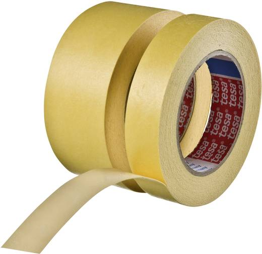 TESA Schilderstape Geel (l x b) 10 m x 15 mm Rubber Inhoud: 1 rollen
