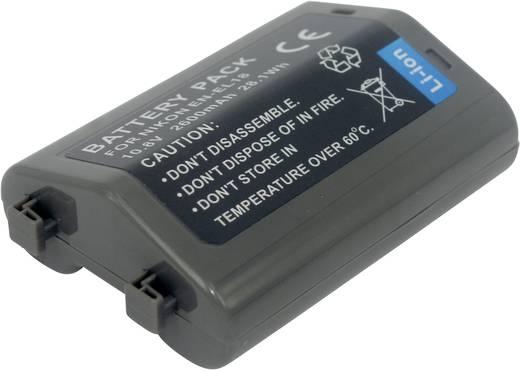 Conrad energy Camera-accu Vervangt originele accu EN-EL18 10.8 V 2600 mAh
