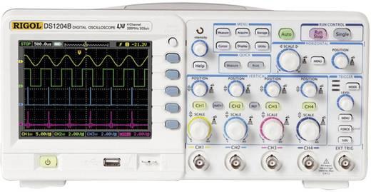 Rigol DS1104B Digitale oscilloscoop 100 MHz 4-kanaals 1 GSa/s 8 kpts 8 Bit Digitaal geheugen (DSO)