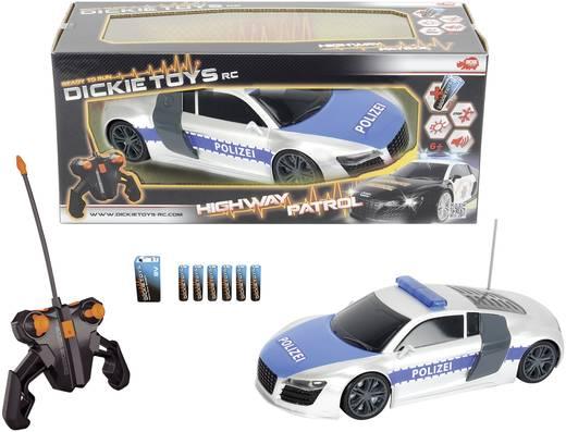 Dickie Toys 201119059 Highway Patrol 1:16 RC modelauto voor beginners Elektro 27 MHz