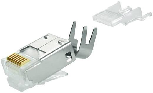 Telegärtner RJ45-stekker Stekker, recht Aantal polen: 8 Zilver Telegärtner J00026A0165 1 stuks