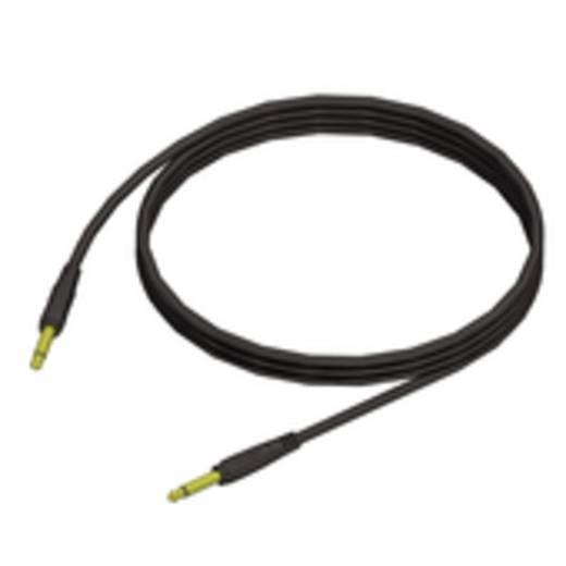 Adam Hall KCREF600150 Instrumenten Kabel [1x Jackplug male 6.3 mm - 1x Jackplug male 6.3 mm] 1.5 m Zwart