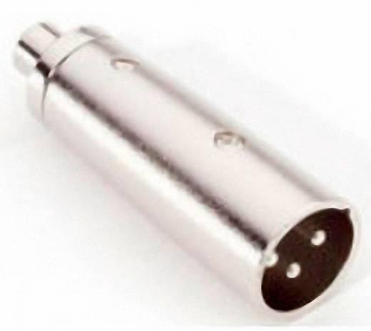 Audio Adapter [1x XLR-stekker - 1x Cinch-koppeling] Zilver