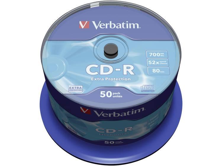 Verbatim 43351 CD-R 80 disc 700 MB 50 stuks Spindel