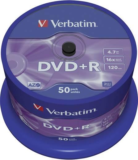 DVD+R disc 4.7 GB Verbatim 43550 50 stuks Spindel