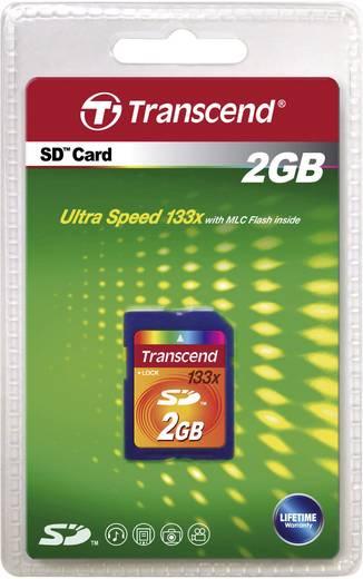 Transcend SD-kaart 2 GB Class 4