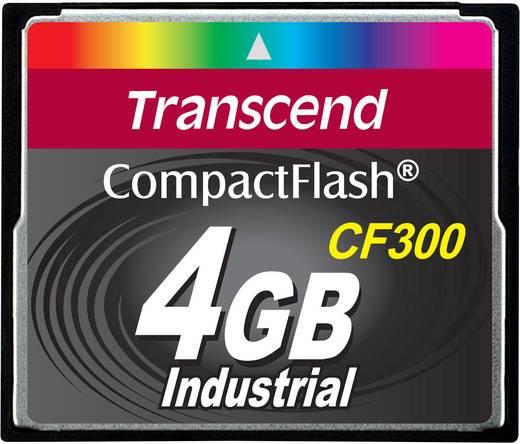 Transcend CF300 Industrial CF-kaart 4 GB