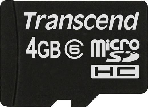 Transcend Standard 4 GB microSDHC-kaart Class 6