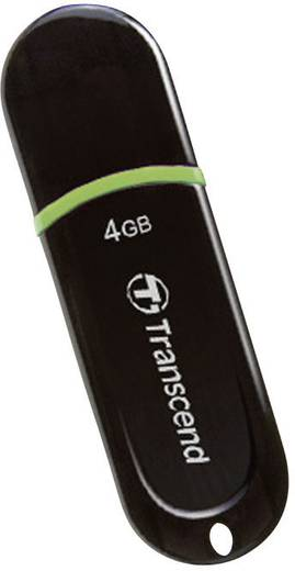 Transcend JetFlash® 300 4 GB USB-stick Groen USB 2.0