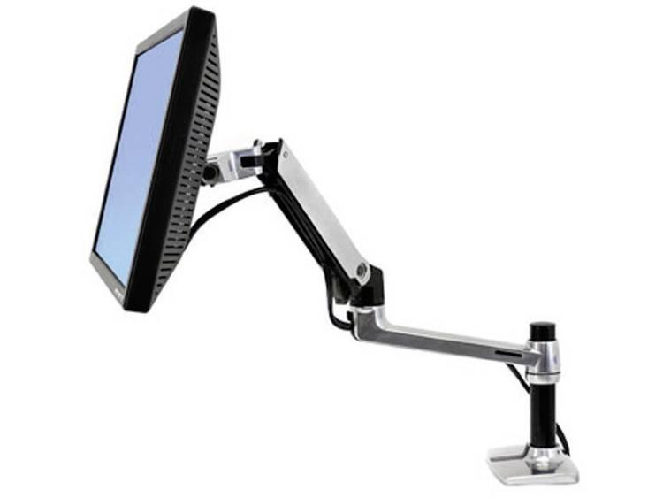 Monitor-tafelbeugel Ergotron LX Desk Monitor Arm 25,4 cm (10) - 81,3 cm (32) Kantelbaar en zwenkbaar, Roteerbaar