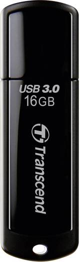 Transcend JetFlash® 700 16 GB USB-stick Zwart USB 3.0