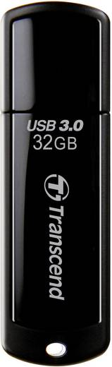 Transcend JetFlash® 700 32 GB USB-stick Zwart USB 3.0