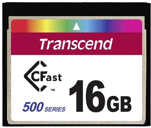 Transcend TS16GCFX500 16 GB CFast-kaart