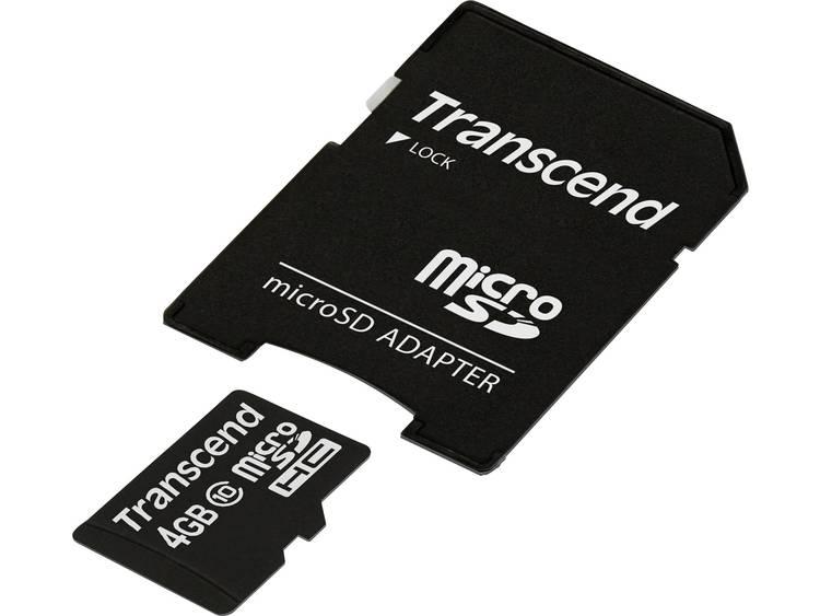 Transcend MicroSD Kaart SDHC 4GB