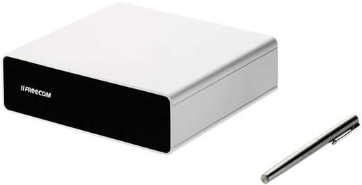 Externe Apple Mac harde schijf (3.5 inch) 4 TB Freecom Hard Drive Quattro Zilver