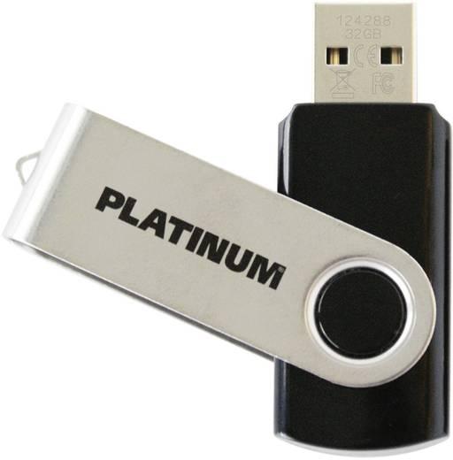 Platinum TWS 64 GB USB-stick Zwart USB 2.0