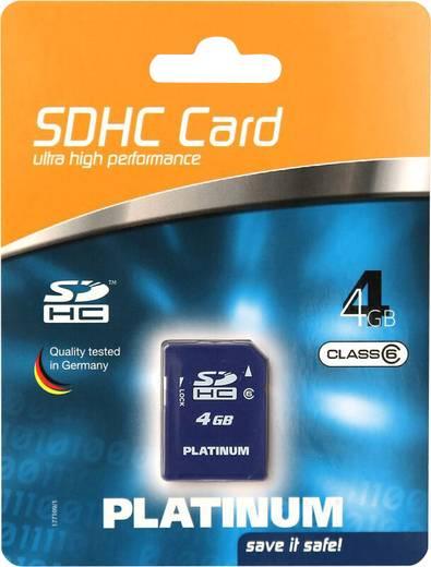 Platinum SDHC-geheugenkaart 4 GB Class 6
