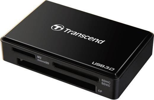 Transcend TS-RDF8K Externe geheugenkaartlezer USB 3.0 Zwart