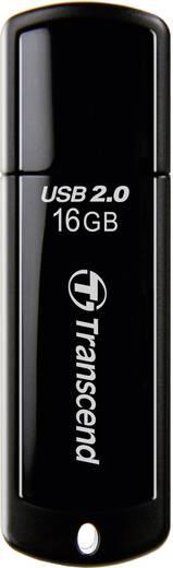 Transcend JetFlash 350 16 GB USB-stick Zwart USB 2.0