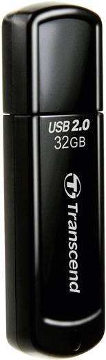 Transcend JetFlash® 350 32 GB USB-stick Zwart USB 2.0