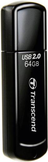 Transcend JetFlash® 350 64 GB USB-stick Zwart USB 2.0