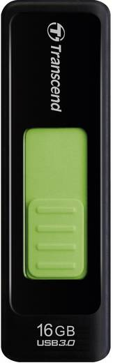 Transcend JetFlash® 760 16 GB USB-stick Zwart USB 3.0