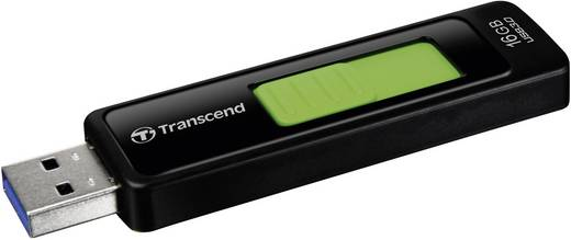 Transcend JetFlash 760 16 GB USB-stick Zwart USB 3.0