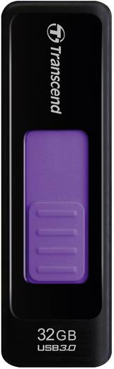 Transcend JetFlash® 760 32 GB USB-stick Zwart USB 3.0