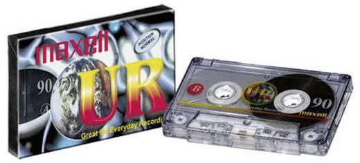 Maxell cassettebandje 90 min. met gratis potlood