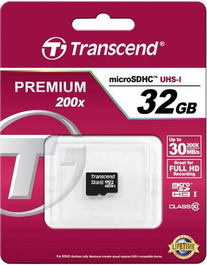 Transcend MICRO SDHC KARTE 32GB CL10 32 GB microSDHC-kaart Class 10