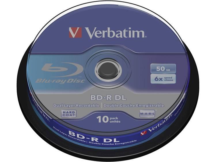 Verbatim BD-R DL 50GB 6x 10pk (43746)