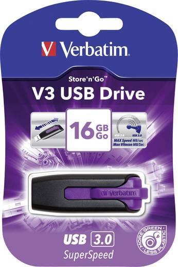 Verbatim V3 16 GB USB-stick Violet USB 3.0
