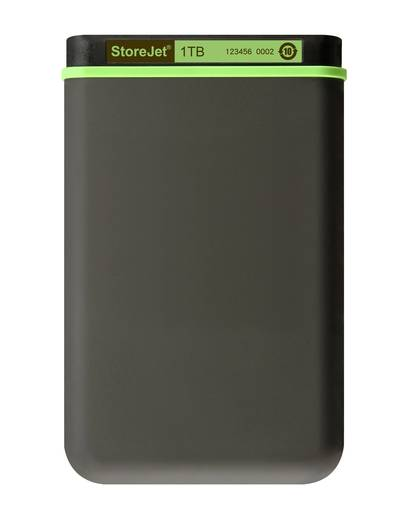 Transcend StoreJet 25M3 1 TB Externe harde schijf 6.35 cm (2.5 inch) USB 3.0 Staalgrijs