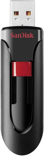 SanDisk Cruzer® Glide™ 16 GB USB-stick Zwart USB 2.0