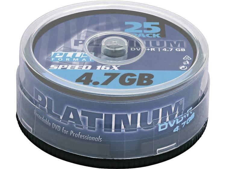 DVD+R disc 4.7 GB Platinum 100016 25 stuks Spindel