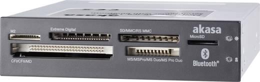 Akasa AK-ICR-11C Inbouw-geheugenkaartlezer 8.9 cm (3.5 inch) Zwart, Wit