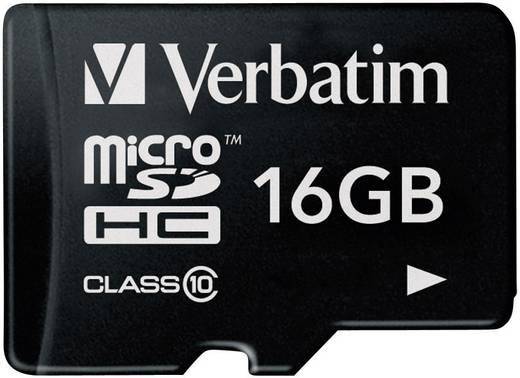 Verbatim MICRO SDHC 16 GB CLASS 10 16 GB microSDHC-kaart Class 10