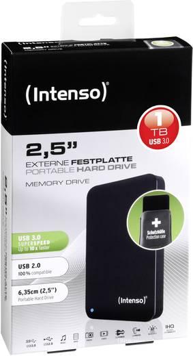 Intenso Memory Drive 1 TB Externe harde schijf (2.5 inch) USB 3.0 Zwart