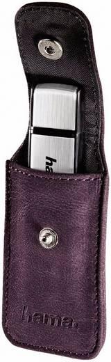 HAMA USB-Stick Case violet Fashion II