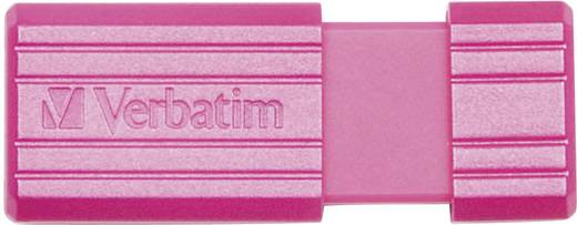 Verbatim Pin Stripe 16 GB USB-stick Roze USB 2.0