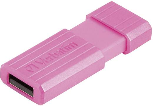 Verbatim Pin Stripe 32 GB USB-stick Roze USB 2.0