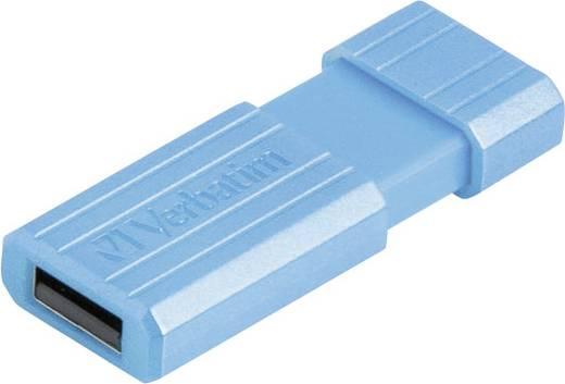Verbatim Pin Stripe 32 GB USB-stick Blauw USB 2.0
