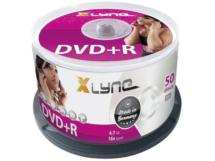 DVD+R disc 4.7 GB Xlyne 3050000 50 stuks Spindel