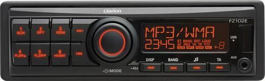 Clarion FZ102E Autoradio enkel DIN 4 x 20 W Jackplug, USB