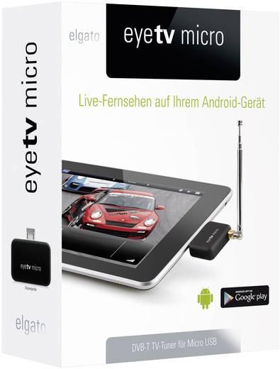 DVB-T TV-stick Elgato EyeTV Micro Met DVB-T antenne Aantal tuners: 1