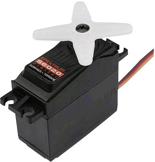 Spektrum Standaard servo S6020 Digitale servo Materiaal (aandrijving): Metaal Stekkersysteem: JR