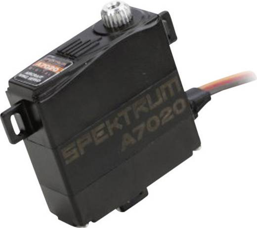 Spektrum A7020 Mini-servo Digitale servo Materiaal (aandrijving): Metaal Stekkersysteem: JR