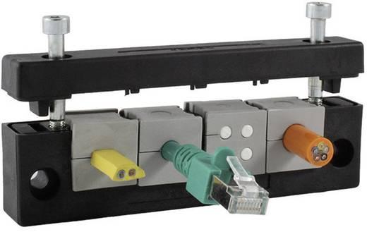 Kabelinvoeringsplaat Klem-Ø (max.) 17 mm Polyamide Zwart Icotek KEL-E3 1 stuks
