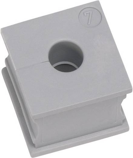 Kabeldoorvoering Gegroefd Klem-Ø (max.) 9 mm Elastomeer Grijs Icotek KT 8 1 stuks