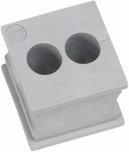 Kabeldoorvoering Gegroefd Klem-Ø (max.) 2 mm Elastomeer Grijs Icotek KT 2/2 1 stuks